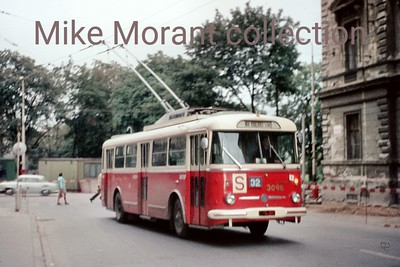 Brno, Czechoslovakia, trolleybus no. 3096 photographed on 4/9/74. [Mike Morant collection]