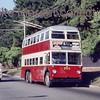 Johannesburg, South Africa, trolleybus dated 25/10/77<br> Sunbeam IV 1959<br> Fleet no. 705<br> Dunkeld route 2A<br> [<i>Mike Morant collection</i>]