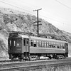 "<b>Pacific Electric Railway</b><br>Car 1103, a 1924 Standard Steel Car Co. Built interurban on the Short Line to Pasadena, the most direct line between downtown Los Angeles and Pasadena, taken in about 1951.<br><font size=""1"">CAPTION TEXT KINDLY SUPPLIED BY CLIFF SCHOLES.</font>"