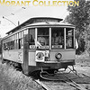 """<b>Twin City Rapid Transit</b><br>Car 1269, built in 1909 in the Company's Snelling shops  This is a front view of a 'gate' car in 1950.<br>Additional background data comes from Greg Melby: <i>The track on the right is the freight connection to the Minnesota Transfer Railway so that the University of Minnesota's St. Paul campus could receive coal for it's heating plant.  This photo was taken on the Inter-Campus line north of the Eustis wye as the line crosses Eustis Ave. whilst the car is sitting on the grade crossing.</i><br><font size=""""1"""">CAPTION TEXT KINDLY SUPPLIED BY CLIFF SCHOLES and GREG MELBY.</font>"""