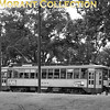 """<b>Twin City Rapid Transit</b><br>Car 1846, built in 1917 in the Company's Snelling shops.  This car is not a 'gate' car, havng an enclosed rear platform, with the photo taken in Minnehaha Park in St. Paul in 1950.<br><font size=""""1"""">CAPTION TEXT KINDLY SUPPLIED BY CLIFF SCHOLES.</font>"""