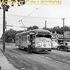 """<b>Twin City Rapid Transit</b><br>Car 375, a 1947 St. Louis Car Co. built PCC on Fourth Avenue at 48th Street in Minneapolis, the end of the Fourth Avenue line, in 1950.<br><font size=""""1"""">CAPTION TEXT KINDLY SUPPLIED BY CLIFF SCHOLES.</font>"""