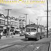 "<b>Philadelphia Suburban Transportation Co.</b><br>Car 19, a 1949 St. Louis Car Co. built double-ended PCC-type body without PCC trucks, on West Chester Pike outbound to Ardmore, PA.  Photo taken about 1951.<br><font size=""1"">CAPTION TEXT KINDLY SUPPLIED BY CLIFF SCHOLES.</font>"