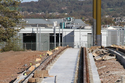 Western extent of track 16 Oct 2011