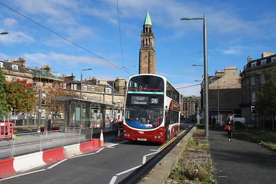 898 is probably old enough to have travelled along Shandwick Place before it closed....