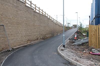 Balgreen Road access to Balgreen stop