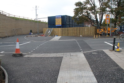 Balgreen Road - signalised crossing to come judging by the road markings
