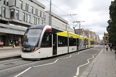 261 in her new garb as the festival Tram