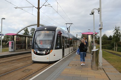 Gogarburn.  Need to find out which tram this was.