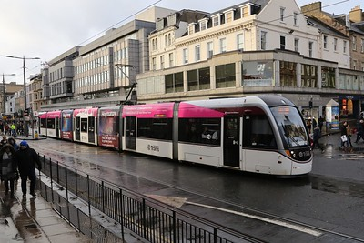 261 has acquired a 'limited time' wrap for free late night trams at Hogmanay 2016