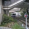 Sydney Tram passing Tram Depot