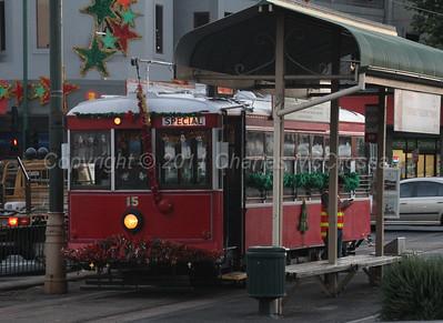 Trams around Bendigo
