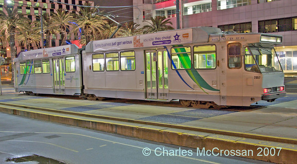 Trams around Melbourne