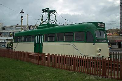 Blackpool Tram Car 290