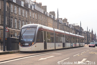 Edinburgh Trams 269, York Place, Edinburgh, 7th May 2016