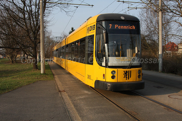 Trams around Dresden