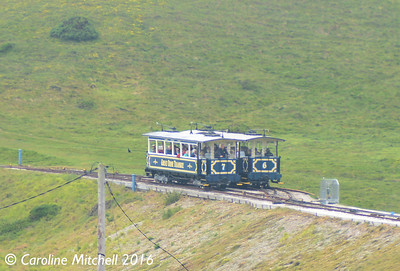 Cars 6 & 7,Great Orme Tramway, 14th June 2016