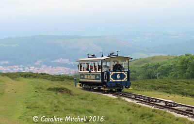 Car 6,Great Orme Tramway, 14th June 2016