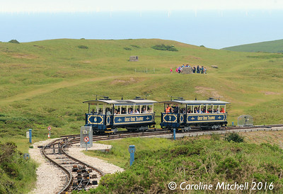 Cars 6 & 7, Great Orme Tramway, 14th June 2016