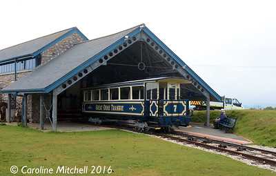 Car 7, Halfway Station, Great Orme Tramway, 14th June 2016