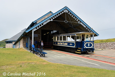 Car 5, Halfway Station,Great Orme Tramway, 14th June 2016