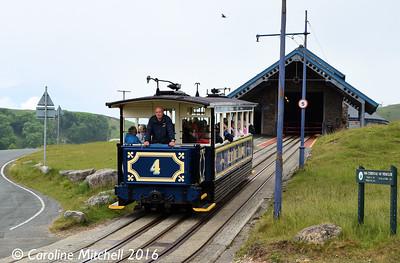 Car 4, Halfway, Great Orme Tramway, 14th June 2016