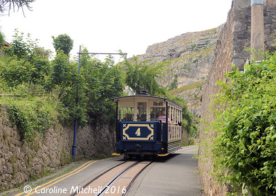 Car 4, Old Road, Great Orme Tramway, 14th June 2016
