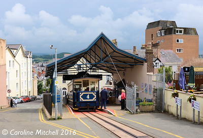 Car 4 at Victoria Station, Great Orme Tramway, 14th June 2016