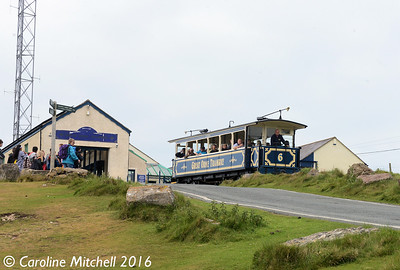 Car 6, Summit Station, Great Orme Tramway, 14th June 2016