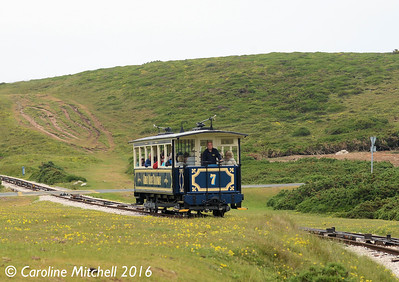 Car 7, Great Orme Tramway, 14th June 2016