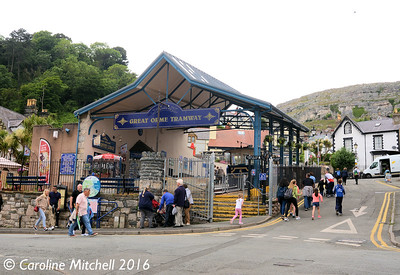 Victoria Station, Great Orme Tramway, 14th June 2016