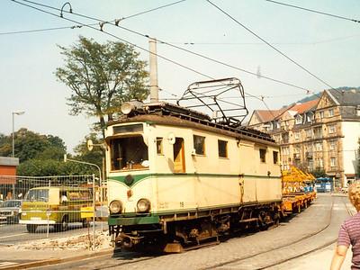 OEG 18, Bismarckplatz, Heidelberg, 13th September 1985