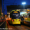 Metrolink 3078, Piccadilly Gardens, 6th December 2014