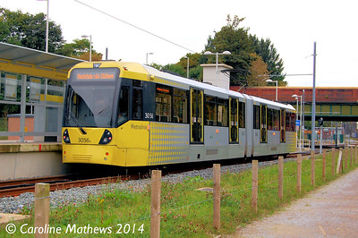 Metrolink 3056, East Didsbury, 6th September 2014