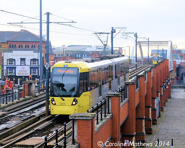 Metrolink 3017, 6th December 2014