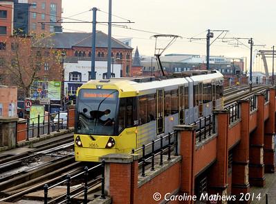 Metrolink 3061, 6th December 2014