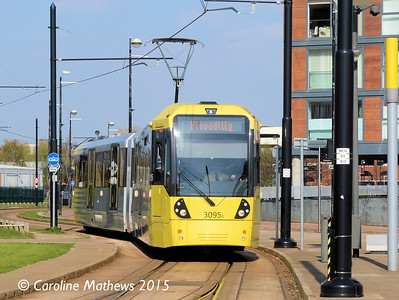 Metrolink 3095, Medic City UK, 20th April 2015