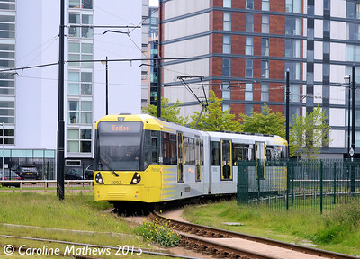 Metrolink 3092, Broadway, 5th June 2015