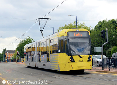 Metrolink 3078, Eccles New Road, 5th June 2015