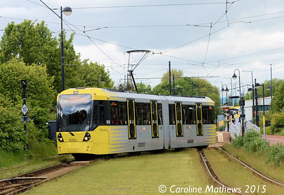 Metrolink 3093, Broadway, 5th June 2015