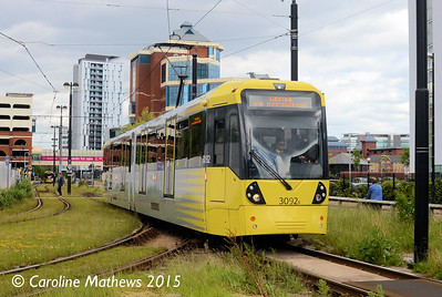 Metrolink 3092, Harbour City, 5th June 2015