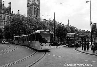 Manchester Metrolink 3072, 3rd June 2017