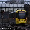 Metrolink 3070, East Didsbury, 2nd December 2017