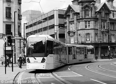 Manchester Metrolink 3114, 3rd June 2017