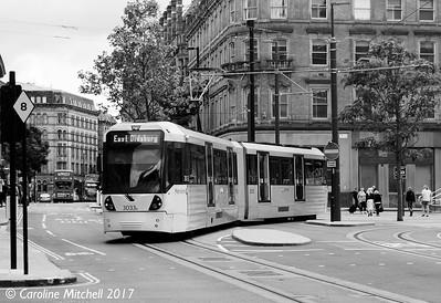 Manchester Metrolink 3033, 3rd June 2017