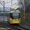 Metrolink 3088, Trafford Bar, 2nd December 2017