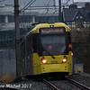 Metrolink 3079, Trafford Bar, 2nd December 2017