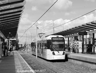 Manchester Metrolink 3061, Deansgate-Castlefield , 3rd June 2017