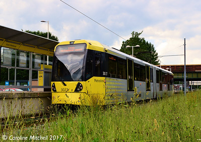 Manchester Metrolink 3027, East Didsbury, 3rd June 2017