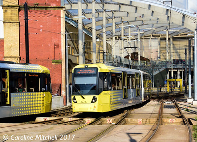 Metrolink 3078, Victoria Station, 2nd September 2017